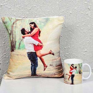Personalized Cushion with Me