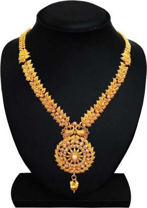 Brass Jewel Set  (Gold)