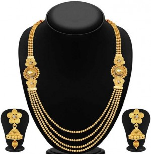 Alloy Jewel Set  (Gold)