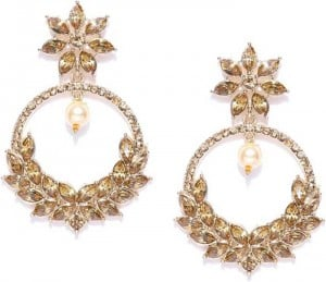 Traditional Zinc Chandbali Earring