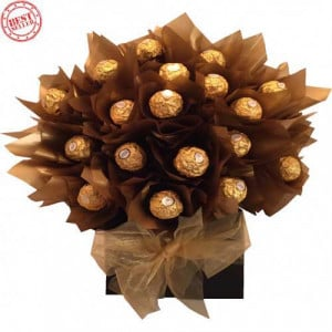 Sweet Chocolate Ferraro rocher bouquet