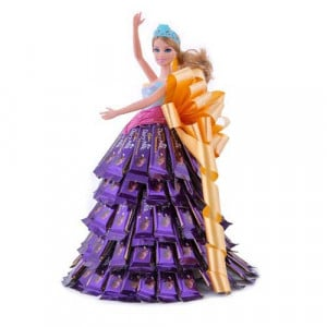 Chocolate barbie