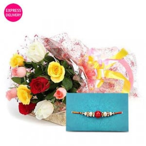 Fancy And Flowery Rakhi Wishes