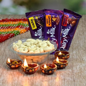 Dairy Milk and Kaju Hamper