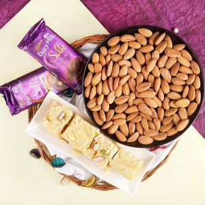 Joy Of Almonds With Chocolates