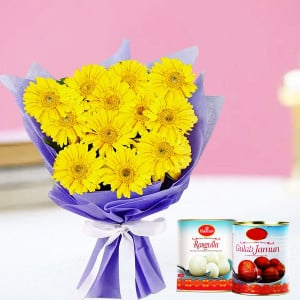 Sweet Gerberas Hamper