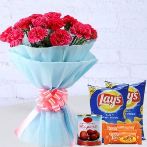 Pink Carnation Combo Delight