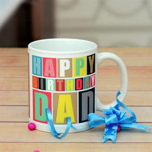Birthday Personalized Mug For Dad