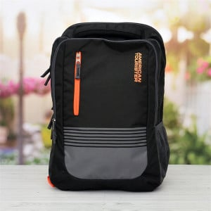 American Tourister Black Laptop Bag