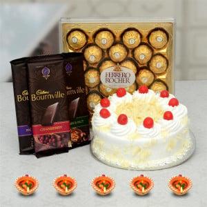 White Choco Diwali Hamper
