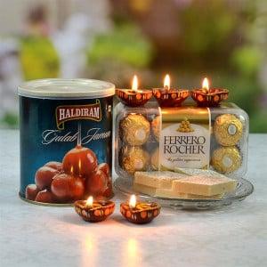 Kaju Barfi Diwali Hamper