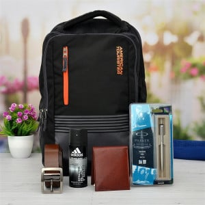 Mens Accessories With American Tourister Backpack