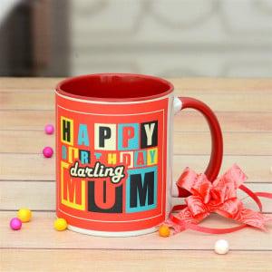 Birthday Personalized Mug For Mom