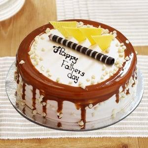 Vanilla Cake For Dad