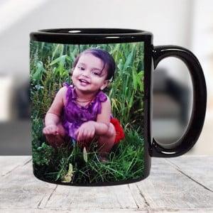 Black Ceramic Mug For My Baby