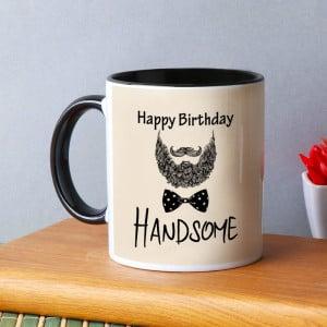 Birthday Mug for a Handsome