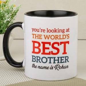 Best Brother Photo Mug
