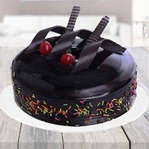 Half kg Rich Chocolate Truffle Cake