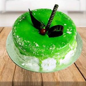Half kg Kiwi Layered Cake