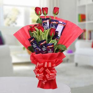 Chcolate Rose Bouquet Online