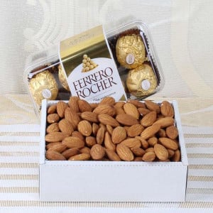 Box of Almond with Rocher Chocolates