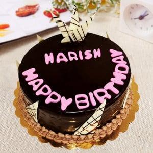 Happy Birthday Truffle cake