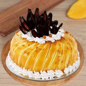 Glaze Cream Pineapple Cake