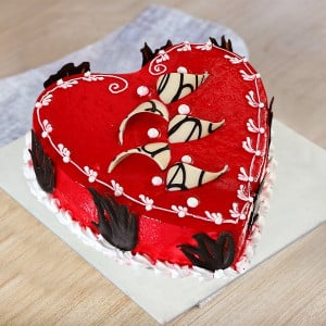 Send Heart Shaped Cakes Online Heart Shaped Cake Delivery