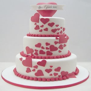 Love Is In The Air Cake