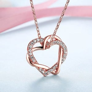 Hearts-in-Love Pendent