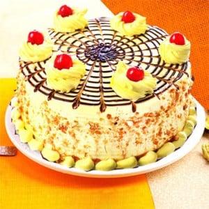 Half kg Affable Butterscotch Cake