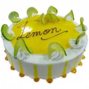 1kg Lemony Lemon Cake Eggless