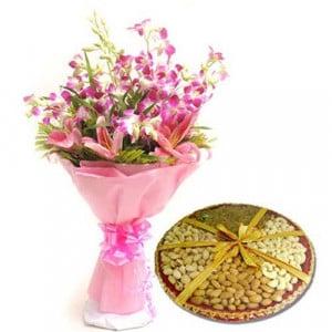 Orchids N Dryfruits-Diwali