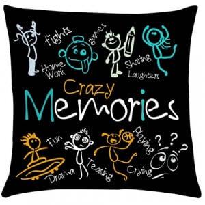 Crazy Memories Cushion