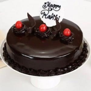 Truffle Cake Rakhi Delight half kg