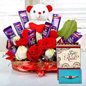 Rakhi Special Surprise Arrangement