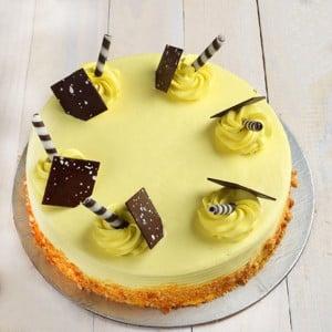 Satiating Butterscotch Cake
