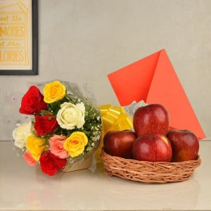 Roses n Greeting Card