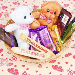 Cuddly Choco Basket