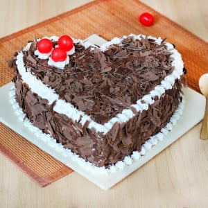 Heart-Touching Black Forest Cake