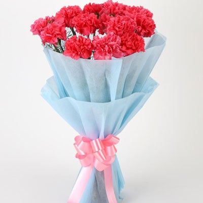 Online Carnation Bouquet For Birthday