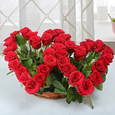 Heartshaped Gift Arrangment India