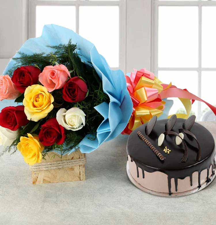 Flowers and Cake Online