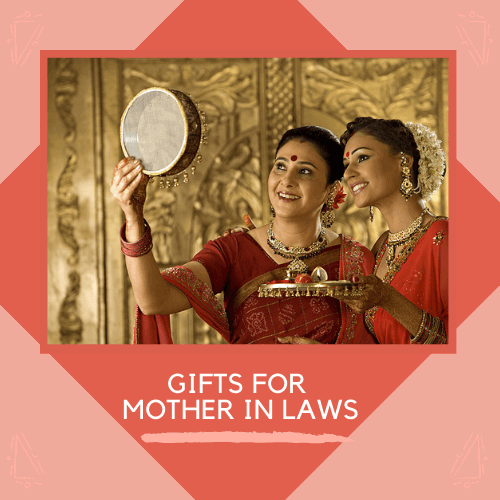 Karwa chauth gifts for mother in laws
