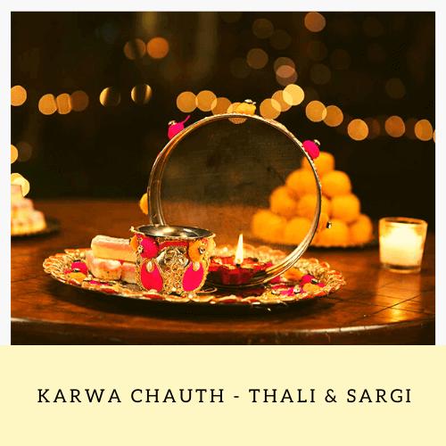 karwa chauth thali & sargi