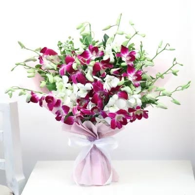 Orchids Bouquet Online for Birthday